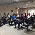 Primeira Aula do Curso de Formação Profissional em Árbitros de Futebol.